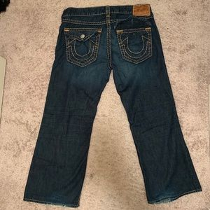 "True Religion jeans ""Billy Super T"" big stitch"